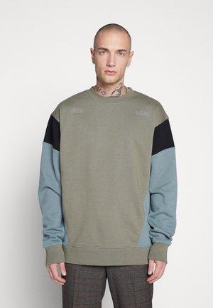LIMITED SLEEVE PANEL - Sweater - khaki