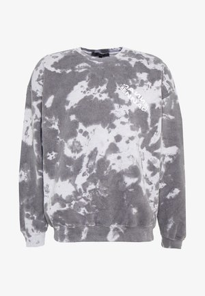 ROTATION BACK TIE DYE - Sweatshirt - washed black