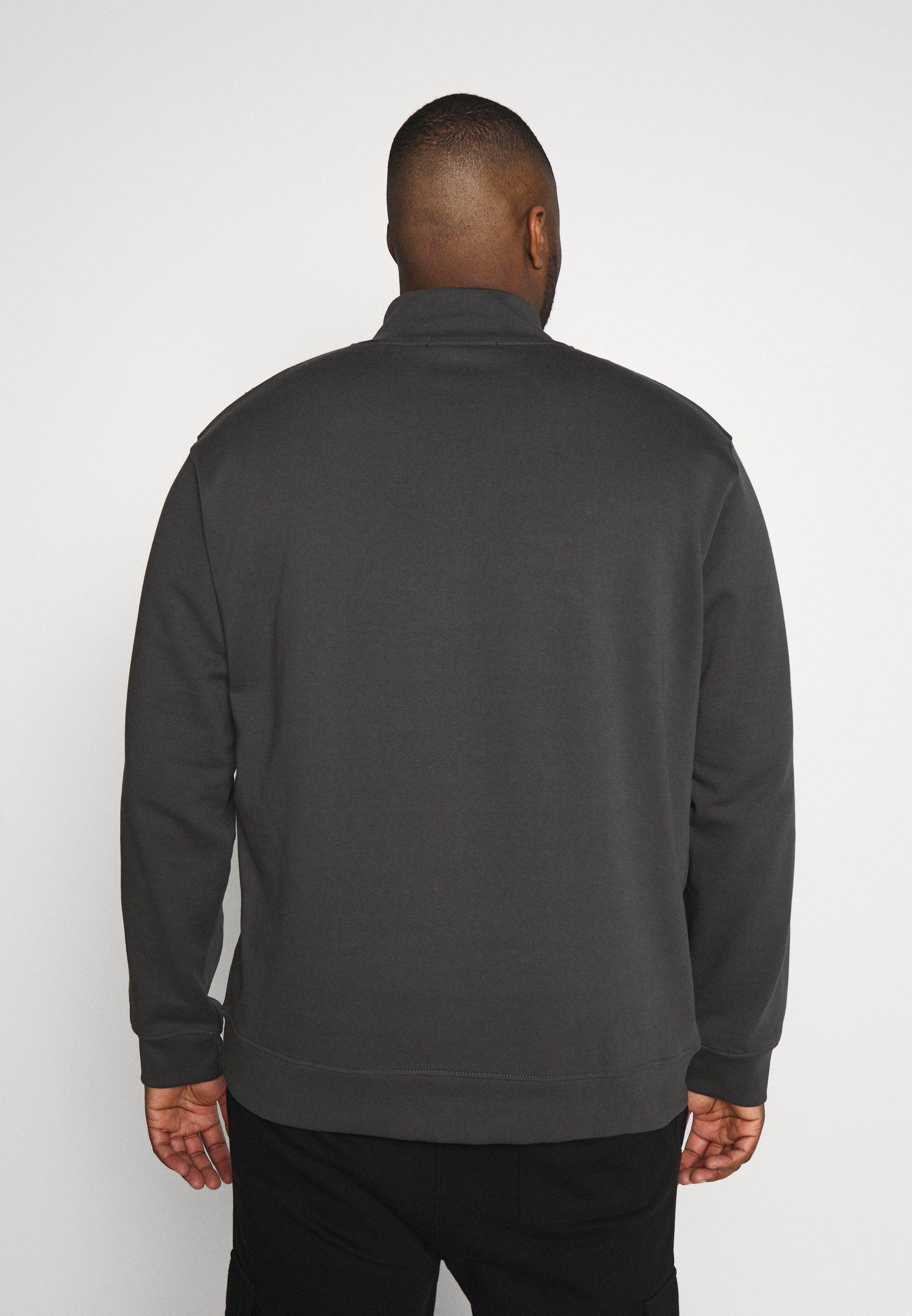 Mennace ESSENTIAL SIG ZIP - Bluza - charcoal
