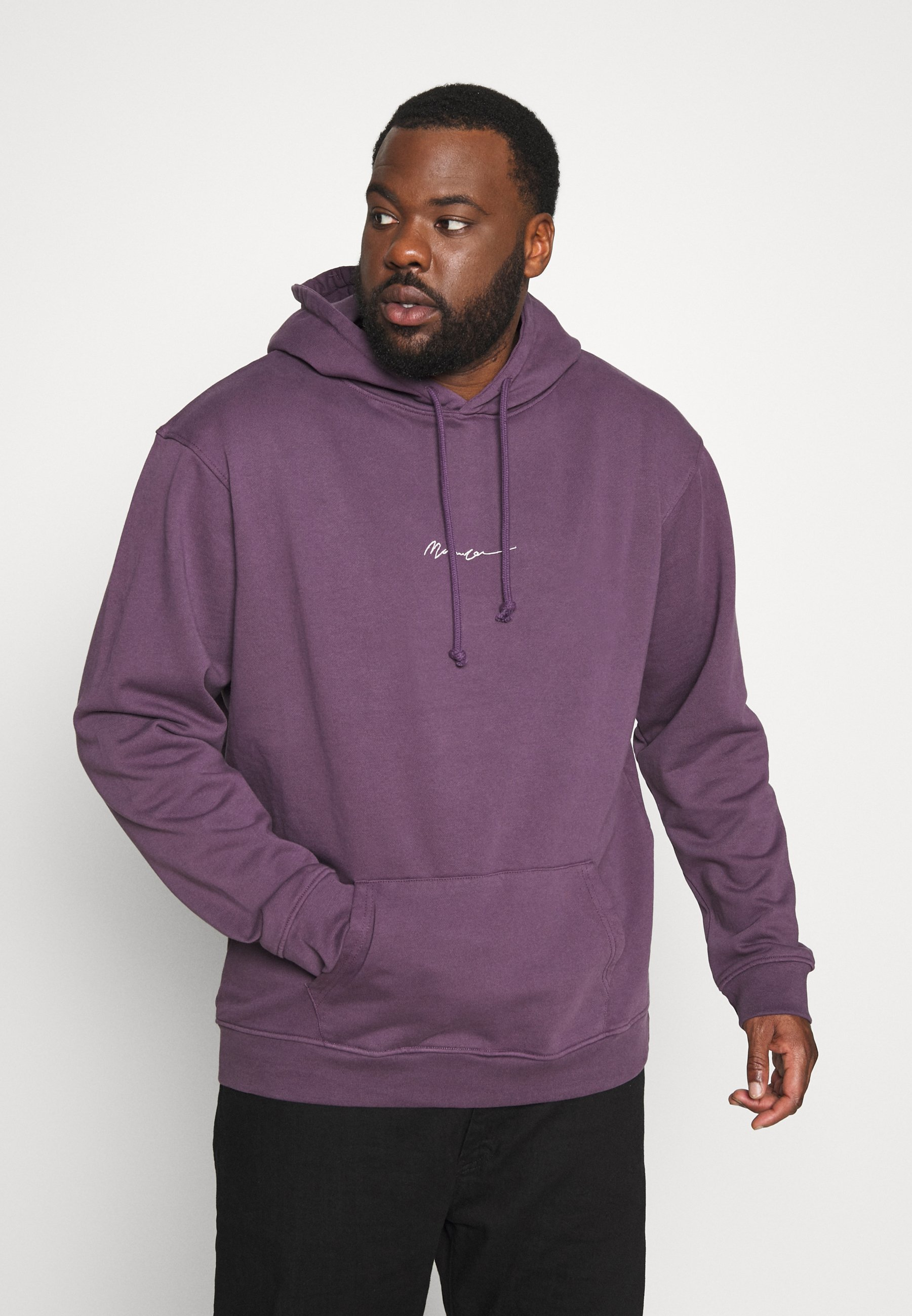 Mennace ESSENTIAL - Bluza z kapturem - purple