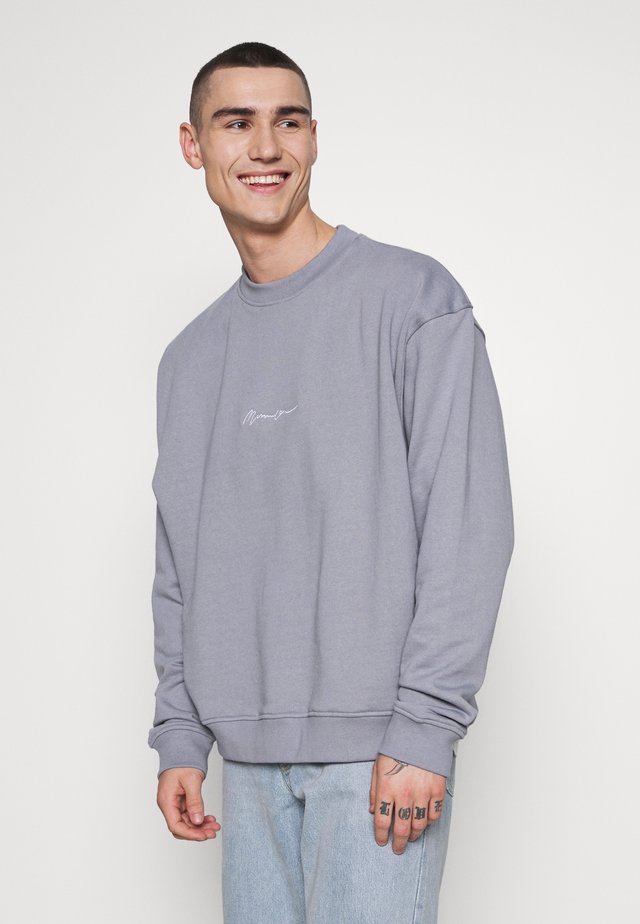 ESSENTIAL SIGNATURE BOXY - Sweatshirt - powder blue
