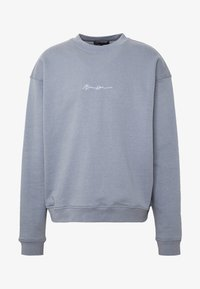Mennace - ESSENTIAL SIGNATURE BOXY - Sweatshirts - powder blue - 4