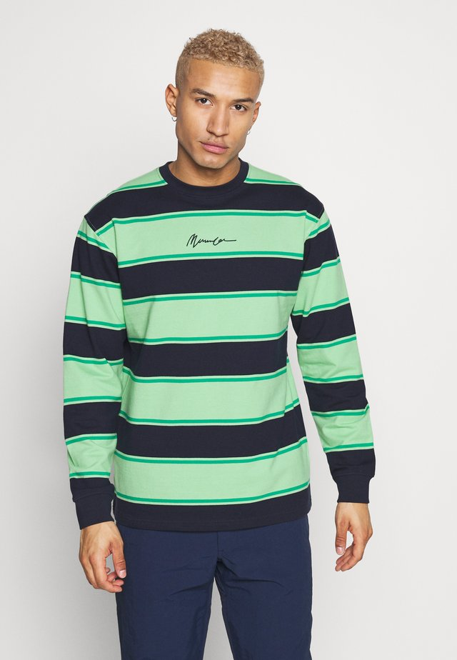 BOLD STRIPE SIGNATURE - Sweater - lime