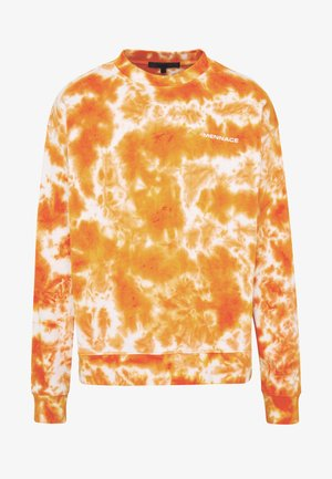 ALL OVER TIE DYE - Sweater - orange