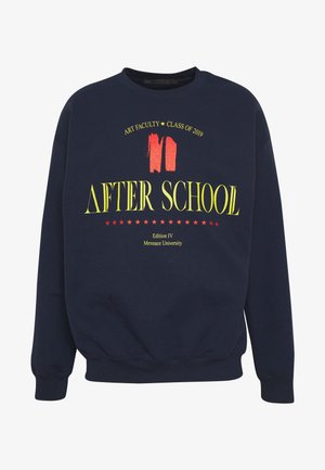 AFTER SCHOOL  - Mikina - navy