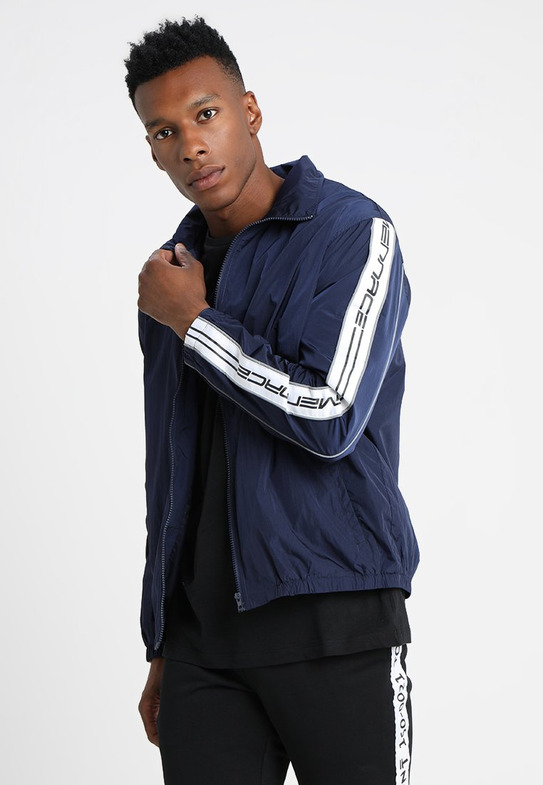 Mennace - TRACK TOP - Veste de survêtement - navy