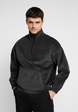 HALF ZIP - Giacca a vento - charcoal