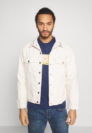 MENNACE SIGNATURE WESTERN - Denim jacket - white