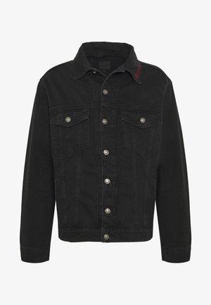 MENNACE SIGNATURE WESTERN - Kurtka jeansowa - black
