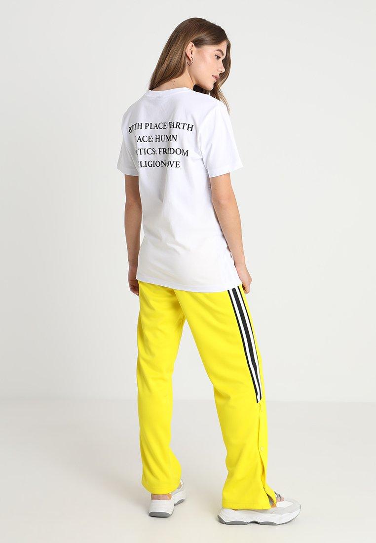 Merchcode - HEART TEE - T-shirt imprimé - white
