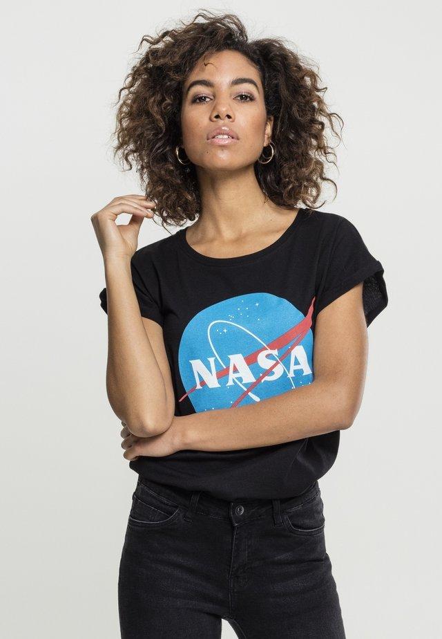 NASA INSIGNIA TEE - T-shirt med print - black