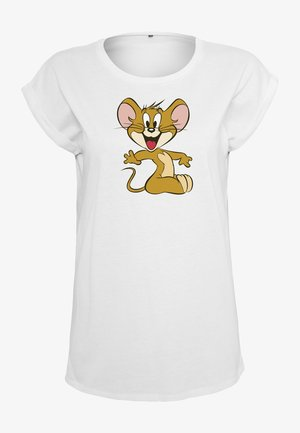 TOM & JERRY  - Print T-shirt - white