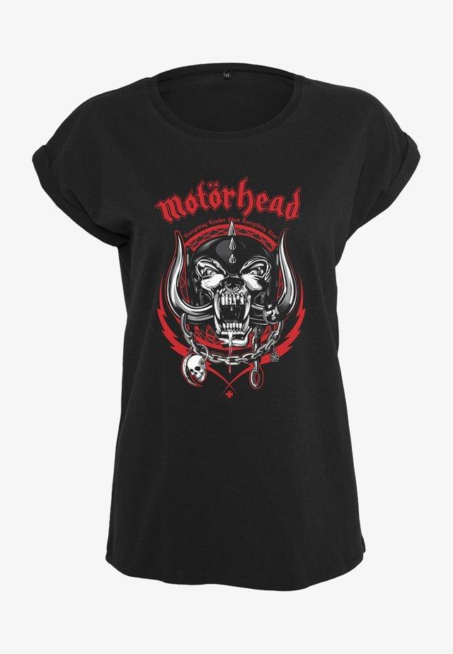 LADIES  - T-shirt imprimé - black