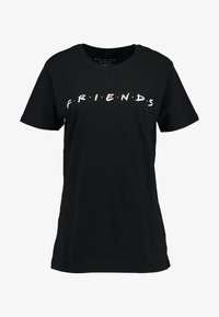 Merchcode - FRIENDS LOGO TEE - T-shirt imprimé - black - 3