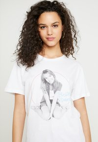 Merchcode - BRITNEY SPEARS - T-shirt imprimé - white - 4