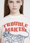 Merchcode - LADIES TROUBLEMAKER TEE - T-Shirt print - rose