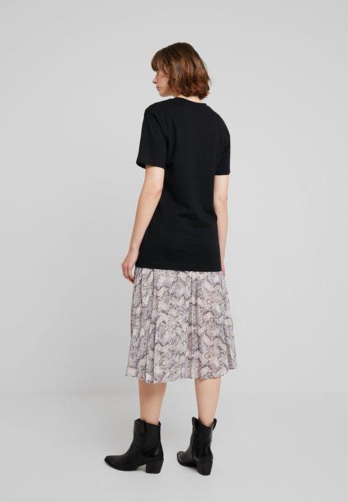 gorąca wyprzedaż w 2019 roku Merchcode LADIES TEE - T-shirt z nadrukiem - black Koszulki i Topy VATE-VM4