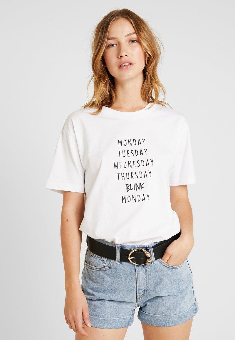 Merchcode - LADIES BLINK TEE - T-shirts print - white