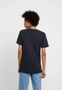 Merchcode - LADIES EXISTANCE TEE - T-shirts print - navy - 2