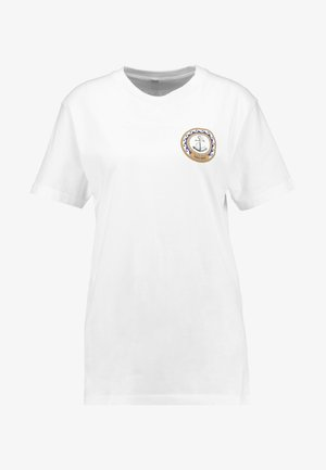 LADIES MOIN MOIN TEE - T-shirt imprimé - white