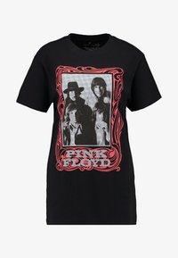 Merchcode - LADIES PINK FLOYD LOGO TEE - T-shirt imprimé - black - 3
