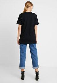 Merchcode - LADIES PINK FLOYD LOGO TEE - T-shirt imprimé - black - 2