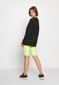 Merchcode - LADIES MAGIC MONDAY SLOGAN LONG SLEEVE - T-shirt à manches longues - black - 2