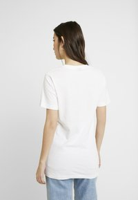 Merchcode - LADIES ONE LINE TEE - T-shirt con stampa - white
