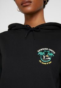 Merchcode - LADIES HAWAIIAN SURFER HOODY - Sweat à capuche - black - 5