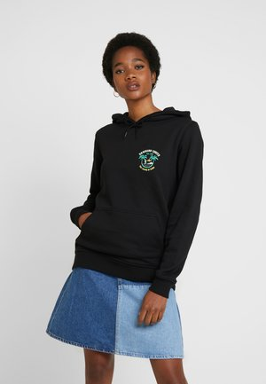LADIES HAWAIIAN SURFER HOODY - Jersey con capucha - black