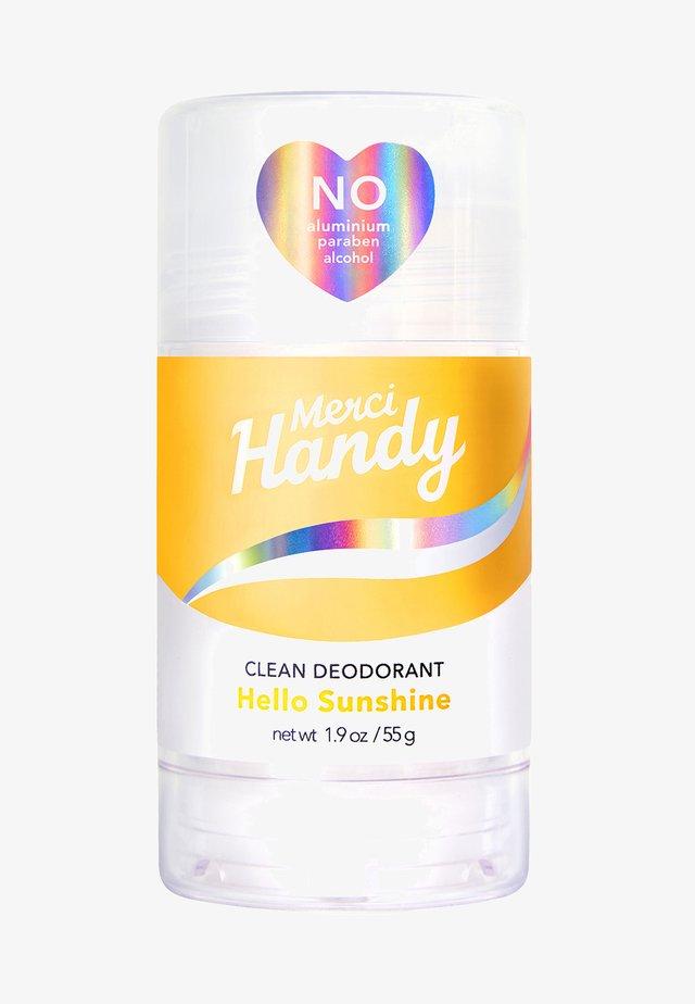 CLEAN DEODORANT HELLO SUNSHINE - Deodorant - yellow