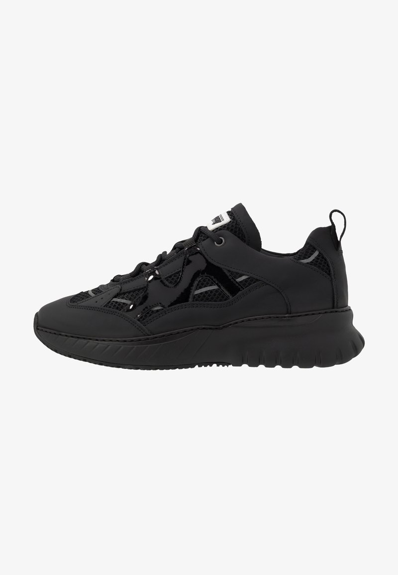 Mercer Amsterdam - JUPITER TRIPLE - Sneakers basse - black