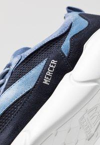 Mercer Amsterdam - W3RD MICROPERE - Sneakersy niskie - navy - 5