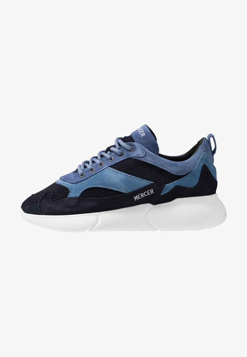 Mercer Amsterdam - W3RD MICROPERE - Sneakers laag - navy