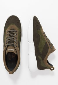 Mercer Amsterdam - W3RD MICROPERE - Sneakers basse - olive - 1