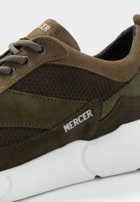 Mercer Amsterdam - W3RD MICROPERE - Sneakers basse - olive - 5