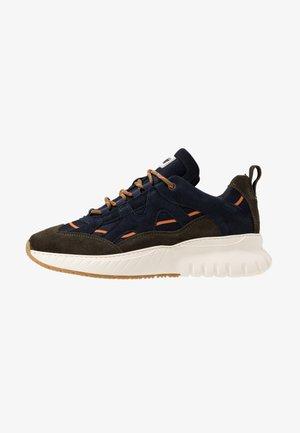 Sneakersy niskie - olive/navy