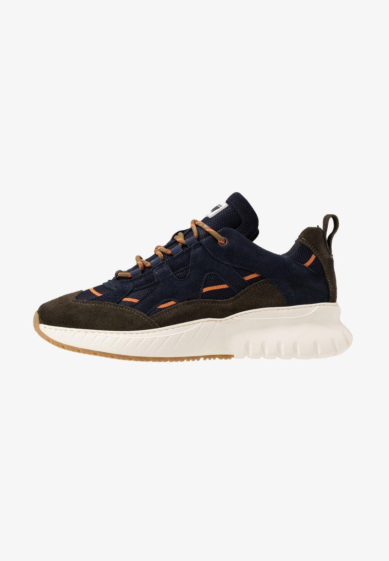 Mercer Amsterdam - Sneakersy niskie - olive/navy