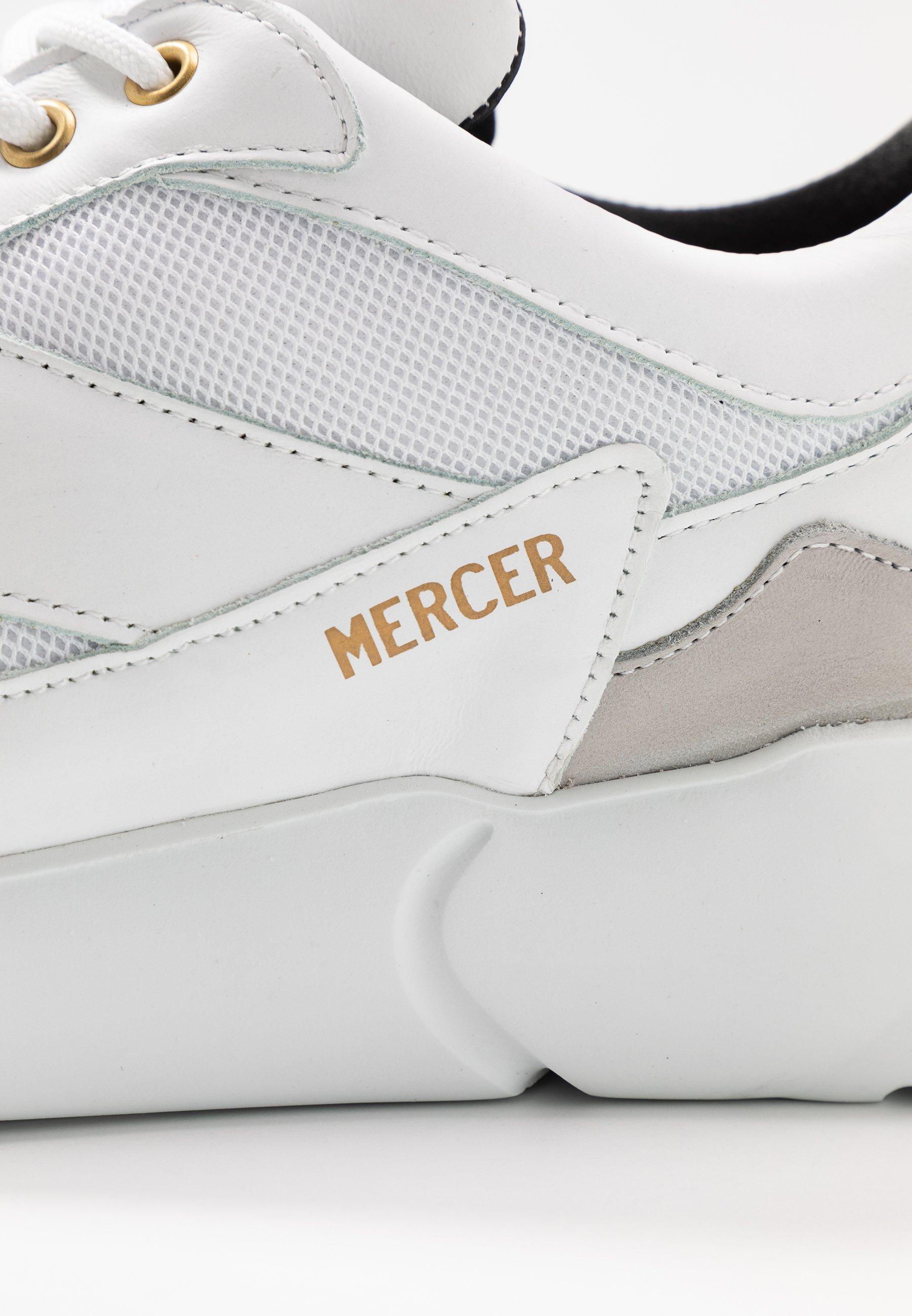 Mercer Amsterdam Baskets basses - white