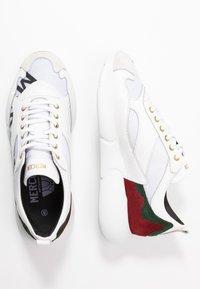 Mercer Amsterdam - Baskets basses - white/red/green - 1