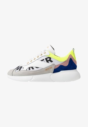 Sneakers - yellow/blue/white