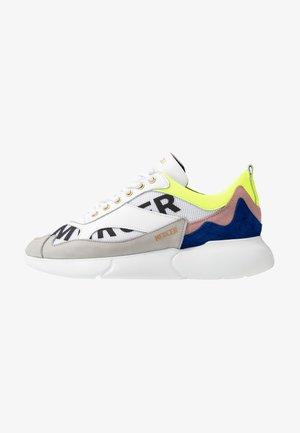 Sneakersy niskie - yellow/blue/white