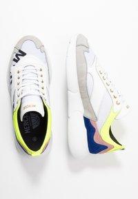 Mercer Amsterdam - Sneakers - yellow/blue/white - 1