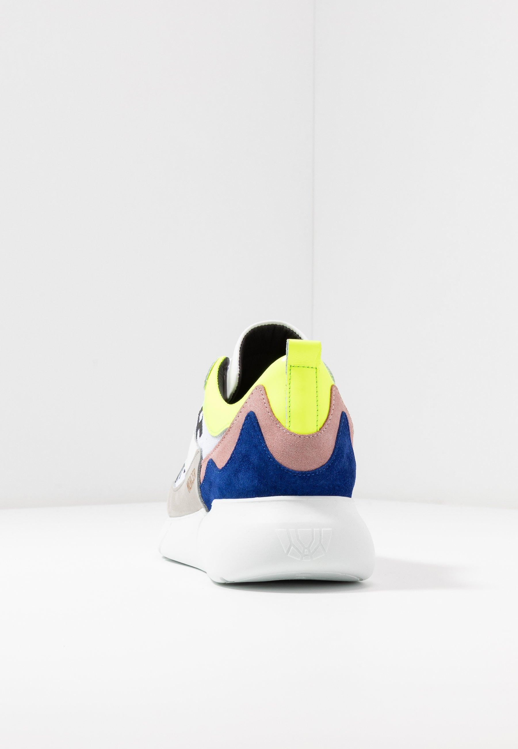 Mercer Amsterdam Baskets Basses - Yellow/blue/white