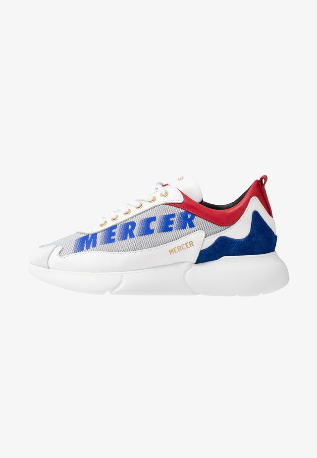 Trainers - red/blue/white