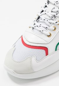 Mercer Amsterdam - Sneakers - red/green/white - 5