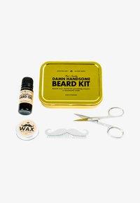 Men's Society - DAMN HANDSOME BEARD GROOMING KIT - Shaving set - - - 0
