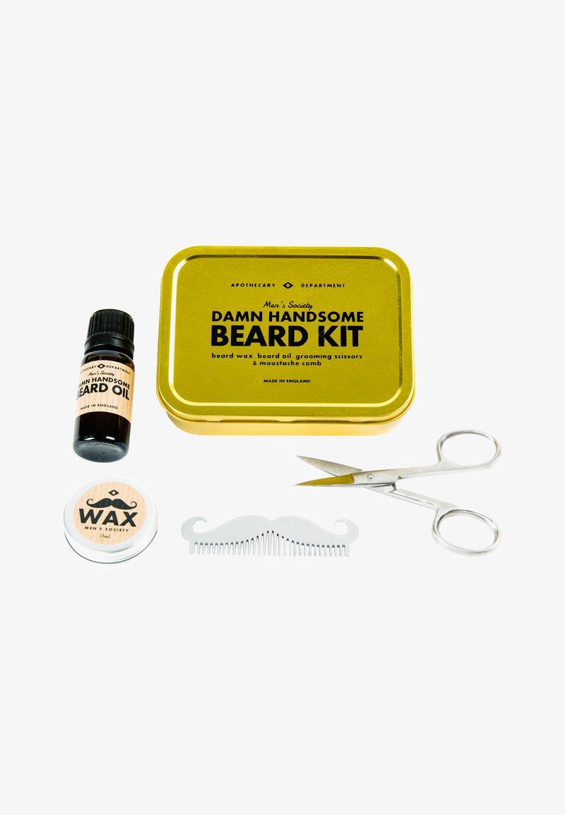 Men's Society - DAMN HANDSOME BEARD GROOMING KIT - Shaving set - -