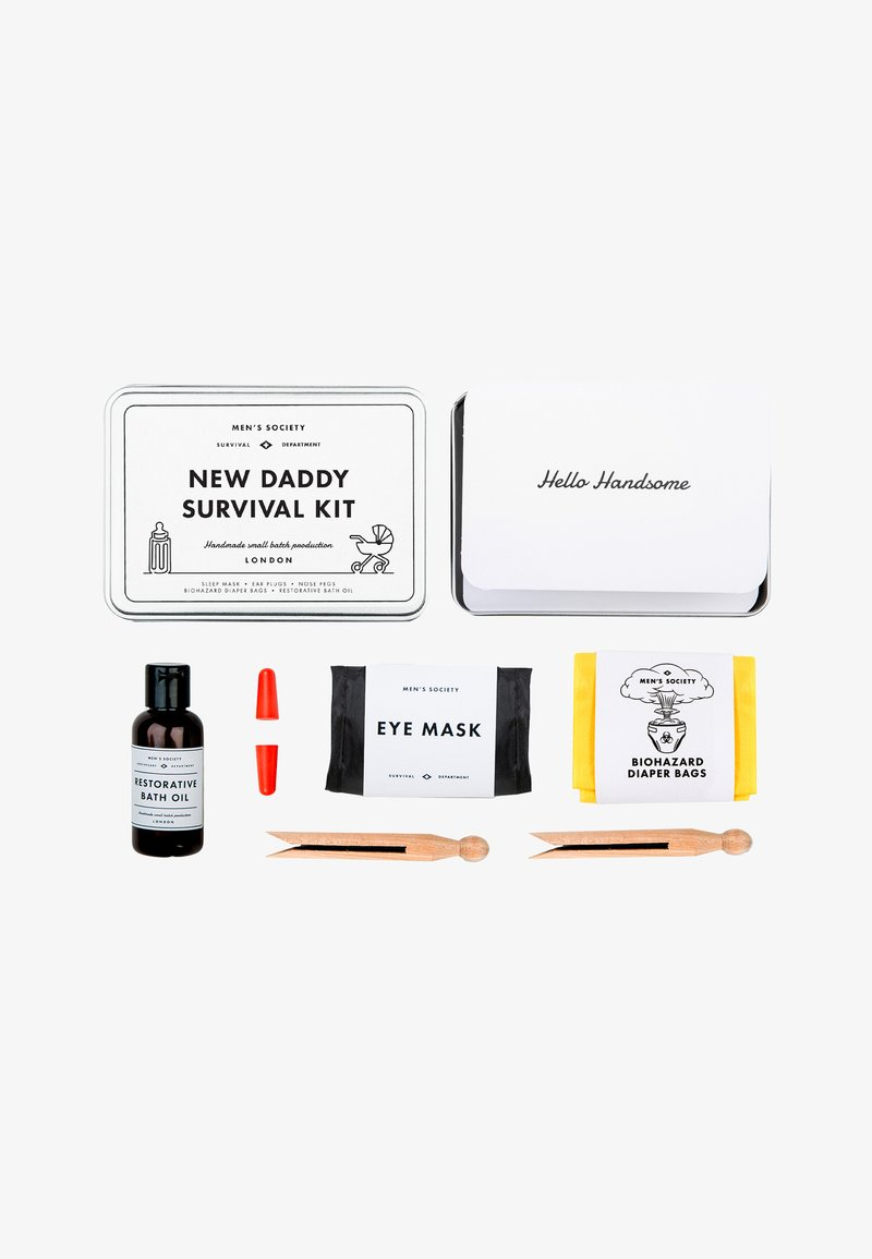 Men's Society - NEW DADDY SURVIVAL KIT - Körperpflegeset - -