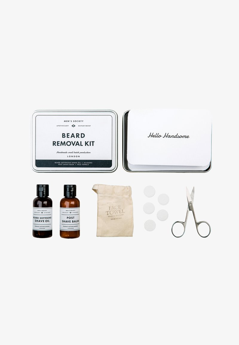 Men's Society - BEARD REMOVAL KIT - Rasierset - -